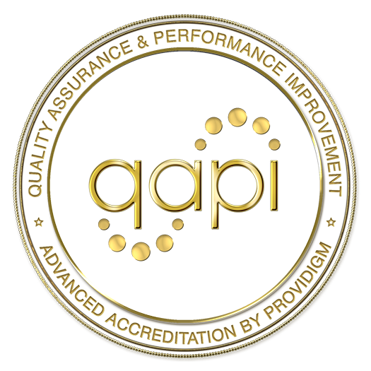 2016 Quality Assurance and Performance Improvement (QAPI) Advanced Accreditation by Providigm